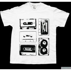 T-shirty męskie: Koszulka T-5 KASET white