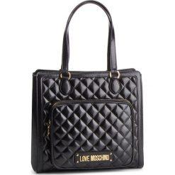 Torebka LOVE MOSCHINO - JC4001PP17LA0000 Nero. Czarne torebki klasyczne damskie Love Moschino, ze skóry ekologicznej. Za 959,00 zł.