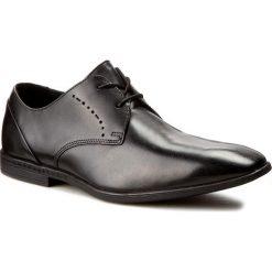 Półbuty CLARKS - Bampton Lace 261197957 Black Leather. Czarne półbuty skórzane męskie Clarks. W wyprzedaży za 179,00 zł.