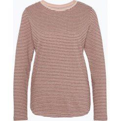 Marie Lund - T-shirt damski, beżowy. Brązowe t-shirty damskie Marie Lund, xs, w paski. Za 89,95 zł.