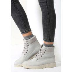 Jasnoszare Traperki See For Miles. Białe buty zimowe damskie marki vices. Za 79,99 zł.