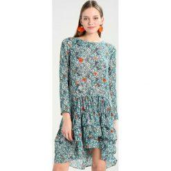 Sukienki hiszpanki: See u Soon ROBE  Sukienka letnia green