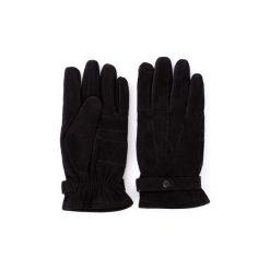 Rękawiczki Barbour  BAACC0120. Czarne rękawiczki męskie Barbour. Za 379,39 zł.