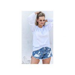 MINIMAL WHITE Bluzka Oversize. Białe bluzki asymetryczne Gau great as you, l, z bawełny. Za 149,00 zł.