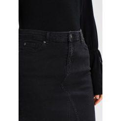 Spódniczki jeansowe: b.young LOLA LUXE  Spódnica jeansowa dark grey