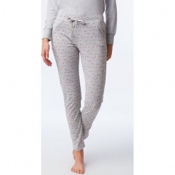 Etam - Spodnie piżamowe. Szare piżamy damskie Etam, m, z bawełny. Za 89,90 zł.