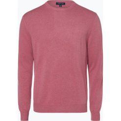 Andrew James - Sweter męski z dodatkiem kaszmiru, różowy. Czerwone swetry klasyczne męskie Andrew James, m, z kaszmiru. Za 229,95 zł.