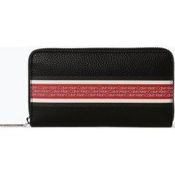 Calvin Klein Womenswear - Portfel damski, czarny. Czarne portfele damskie Calvin Klein Womenswear. Za 299,95 zł.