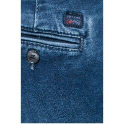 Pepe Jeans - Jeansy. Niebieskie jeansy damskie rurki Pepe Jeans. W wyprzedaży za 269,90 zł.