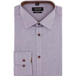 Koszula bexley 2306 długi rękaw slim fit fiolet. Szare koszule męskie slim marki Recman, m, z długim rękawem. Za 69,99 zł.