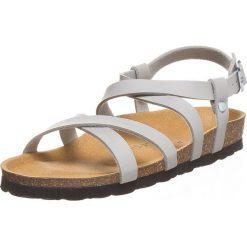 Buty damskie: Sandały w kolorze szarym