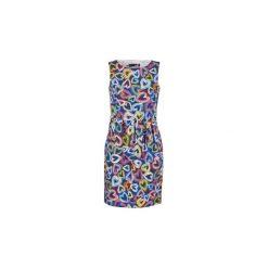 Sukienki krótkie Love Moschino  WVE9980S2870. Szare sukienki mini marki Love Moschino, s, z krótkim rękawem. Za 879,20 zł.
