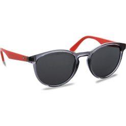 Okulary przeciwsłoneczne damskie aviatory: Okulary przeciwsłoneczne TOMMY HILFIGER – 1485/S Dark Grey HWJ