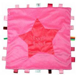Przytulanki i maskotki: Label Label – Stars Kocyk przytulanka XXL Pink/Fuchsia METKI