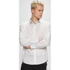 S. Oliver - Koszula. Szare koszule męskie na spinki marki S.Oliver, l, z bawełny, z włoskim kołnierzykiem, z długim rękawem. Za 149,90 zł.