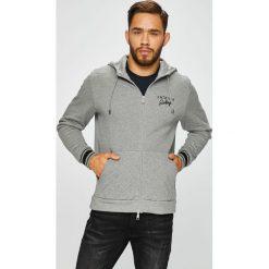 Armani Exchange - Bluza. Czarne bluzy męskie rozpinane marki Armani Exchange, l, z materiału, z kapturem. W wyprzedaży za 549,90 zł.