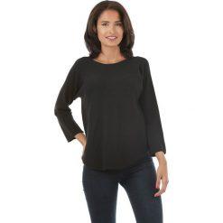 Sweter w kolorze czarnym. Czarne swetry klasyczne damskie L'étoile du cachemire, z kaszmiru. W wyprzedaży za 129,95 zł.