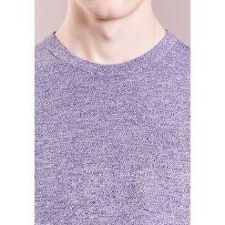 Swetry klasyczne męskie: J.LINDEBERG NIKLAS  Sweter mid blue