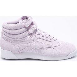 Reebok Classic - Buty F/S Hi. Szare buty sportowe damskie reebok classic marki Reebok Classic, z materiału. W wyprzedaży za 179,90 zł.
