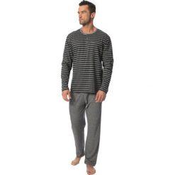 Męska piżama ROSSLI Ambroise. Szare piżamy męskie marki Astratex, m, z dzianiny. Za 130,99 zł.