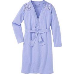 Szlafroki kimona damskie: Szlafrok kimono bonprix jasny lawendowy