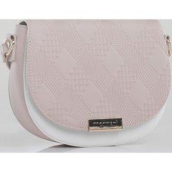 Monnari - Torebka. Szare torebki klasyczne damskie Monnari, w paski, z materiału, średnie. W wyprzedaży za 119,90 zł.