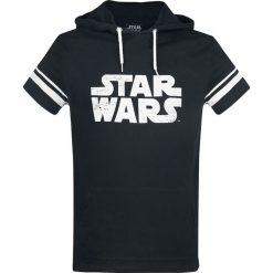 Star Wars Darth Vader T-Shirt czarny. Czarne t-shirty męskie z nadrukiem Star Wars, xl, z kapturem. Za 54,90 zł.
