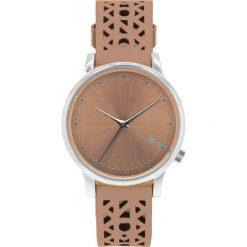 Zegarek Komono Estelle Cutout Seashell Silver. Szare zegarki męskie Pakamera, metalowe. Za 380,00 zł.