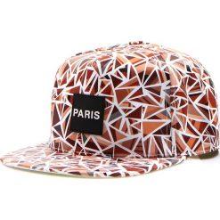 Czapka męska snapback brązowa (hx0215). Brązowe czapki męskie Dstreet, z aplikacjami, eleganckie. Za 69,99 zł.
