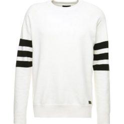 Tiger of Sweden Jeans STADE Sweter white light. Białe kardigany męskie marki Tiger of Sweden Jeans, l, z bawełny. W wyprzedaży za 382,85 zł.