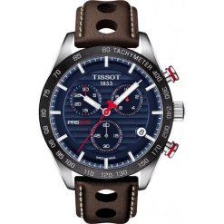 RABAT ZEGAREK TISSOT T-Sport T100.417.16.041.00. Niebieskie zegarki męskie TISSOT, ze stali. W wyprzedaży za 2376,00 zł.
