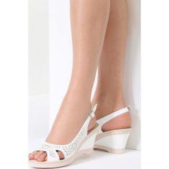 Białe Sandały That High. Białe sandały damskie vices, na koturnie. Za 79,99 zł.