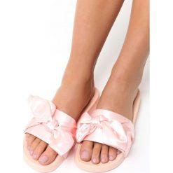 Klapki damskie: Różowe Klapki Lady's Up