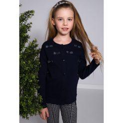T-shirty dziewczęce: Granatowa Bluzka NDZ7374