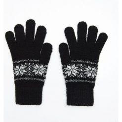 Rękawiczki - Czarny. Czarne rękawiczki damskie Cropp. Za 24,99 zł.
