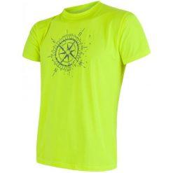 Sensor Koszulka Męska Coolmax Fresh Pt Kompas Yellow L. Żółte odzież termoaktywna męska marki Sensor, l, z krótkim rękawem, na fitness i siłownię. W wyprzedaży za 79,00 zł.