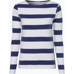 Bluzki sportowe damskie: Marie Lund - Damska koszulka z długim rękawem, niebieski