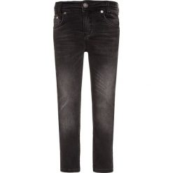 Chinosy chłopięce: Blue Effect Jeansy Slim Fit black denim