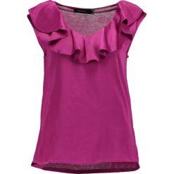 Bluzki asymetryczne: Cortefiel VOLANTE Bluzka pink