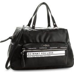 Torebka NOBO - NBAG-E1320-C020 Czarny. Czarne torebki klasyczne damskie Nobo, ze skóry ekologicznej. W wyprzedaży za 139,00 zł.