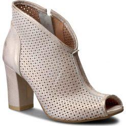 Buty zimowe damskie: Botki QUAZI - 2442 Różowy