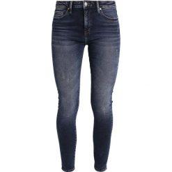 Mavi LUCY Jeans Skinny Fit dark blue. Niebieskie boyfriendy damskie Mavi. Za 269,00 zł.
