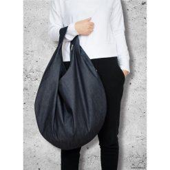 Torba HOBO - grafitowy jeans. Czarne torebki klasyczne damskie marki KIPSTA, m, z elastanu, z długim rękawem, na fitness i siłownię. Za 190,00 zł.