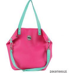 Torba Worek Waterproof Fuchsia Seledyn. Różowe torebki klasyczne damskie marki Pakamera, ze skóry. Za 169,00 zł.