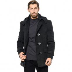 Płaszcz w kolorze antracytowym. Szare płaszcze zimowe męskie AVVA, Dewberry, m. Za 489,95 zł.