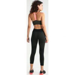 Biustonosze sportowe: adidas Performance Biustonosz sportowy khaki/rosa