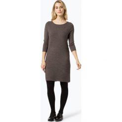 Sukienki dzianinowe: Comma – Sukienka damska, beżowy