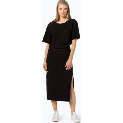 G-Star - Sukienka damska – Bohdana, czarny. Czarne sukienki na komunię marki G-Star, s, z dżerseju, retro, z dekoltem w serek. Za 349,95 zł.