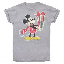 Christmas T-Shirt T-Shirt Damski Mickey Christmas L Szary. Szare t-shirty damskie Christmas T-Shirt, s, z motywem z bajki. Za 65,00 zł.