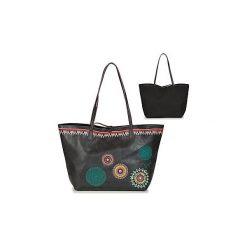 Torby shopper Desigual  BOLS SIARA CAPRI. Czarne shopper bag damskie marki Desigual. Za 279,20 zł.